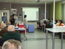 Uno de los talleres realizados en el centro Guadalinfo de Montoro en 2012